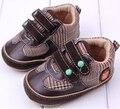 Мода 2015 Детская Обувь Резиновая Brown Crocodile Популярные Младенческая Малышей Обувь Возраст 0-18 Месяц Первые Ботинки Ходока