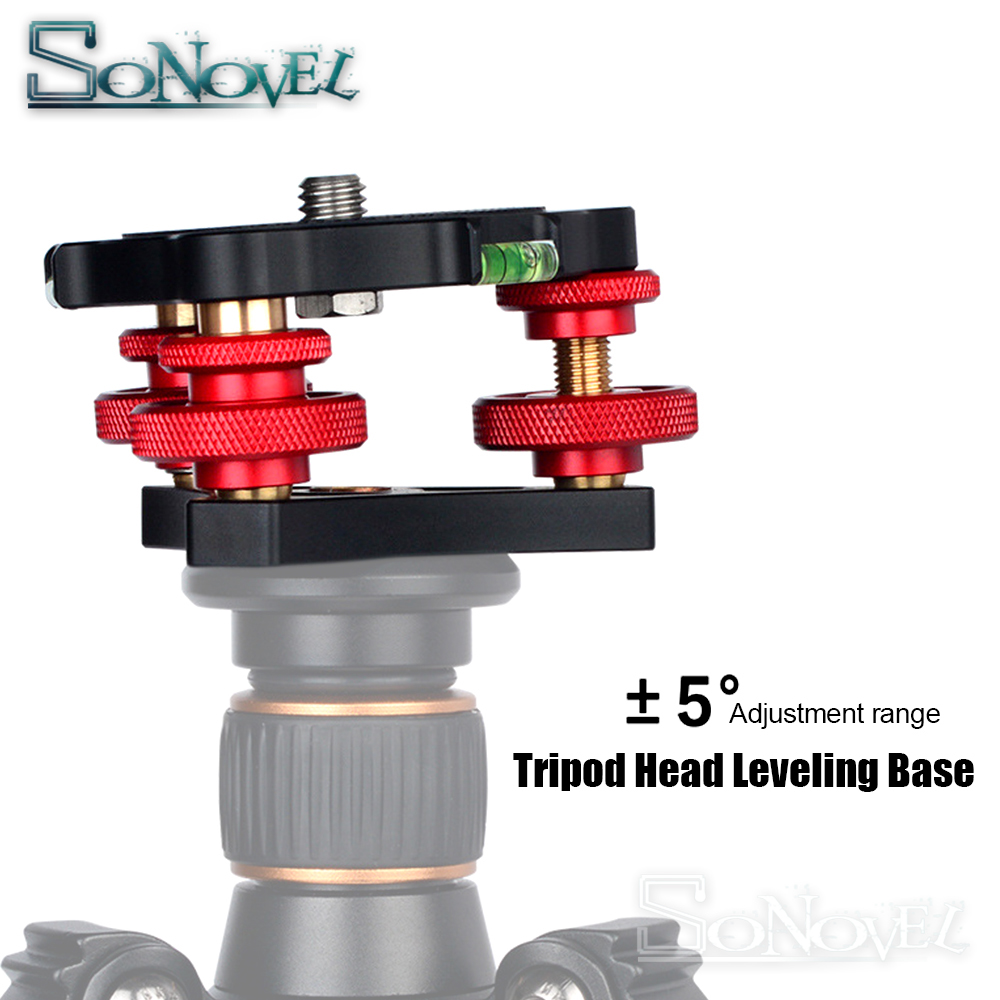 Camera /& Photo Products Aluminum Alloy Adjustment Dials Leveling Base Ball Head for Camera Tripod Head