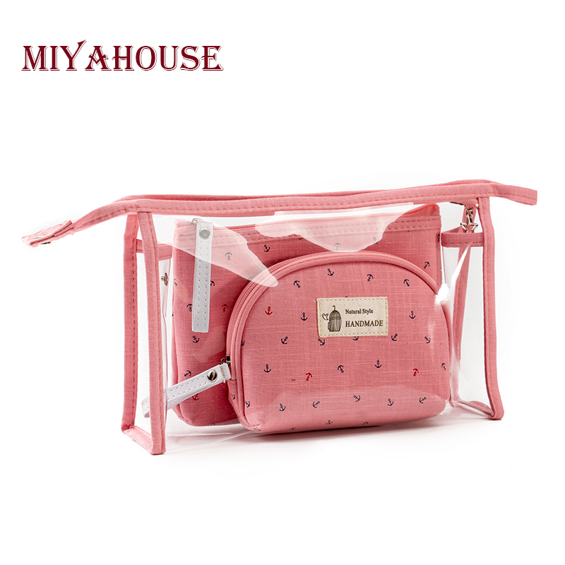 Miyahouse Fresh Style Women Cosmetic Bag Multifunctional Travel Lady Makeup Bag Fashion Candy Colors Female Cosmetic Bag