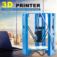 Professional 3D Printer 3DP Hero Delta 3d Printer Maker Unassembled High Precision 3d Printer Kit Gadgets