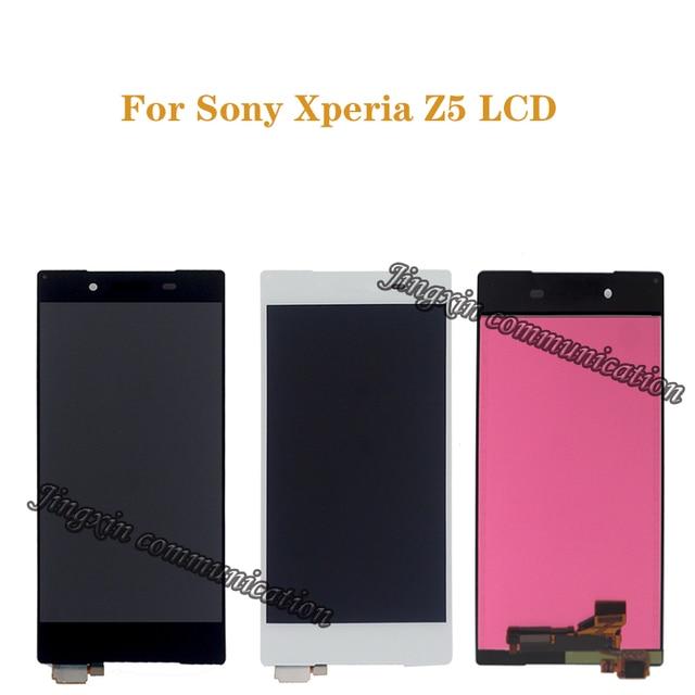 Exibição Original Para Sony Xperia Z5 LCD + montagem da tela de toque para Sony Xperia Z5 E6653 E6603 E6633 LCD móvel peças de reparo do telefone