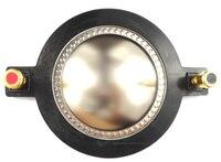 1pcs 72.2 mm 8 ohm Titanium Repairkit diaphragm voice coil -flat wire  2.84 ''
