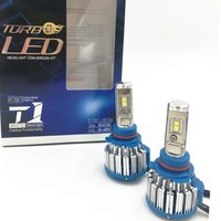 2X T1 Car Headlight LED CSP H8 70W 7000lm Auto Bulb Headlamp 6000 6500K Light