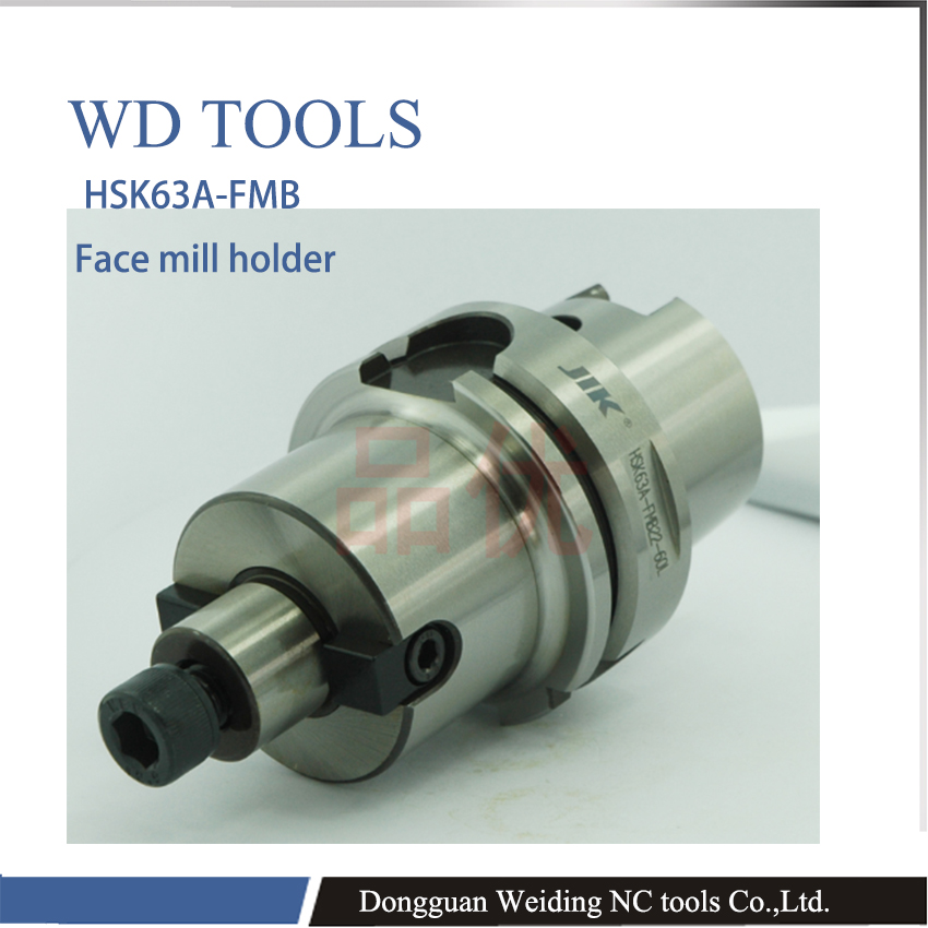 HSK63-FMB16-50  precision shank, HSK shank, CNC plane, milling shank HSK face mill holder