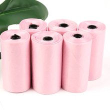 3 Rolls 45 pcs Pet supplies garbage bags dog pets pooper Bags Pick up cleaning degradable with