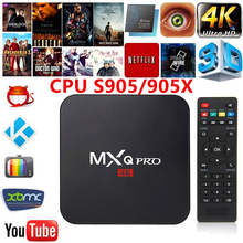 MXQ PRO Android 6.0 TV Box KODI 17.4 Amlogic S905X Quad Core Ram 1GB ROM 8GB 4K 2.4G WiFi Smart Tv Box Media Player pk x96