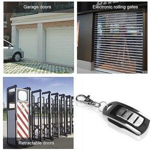 Image 5 - Kebidu 433MHZ otomatik çift kopya uzaktan teksir 4 düğmeler garaj kapısı kapı uzaktan kumanda öğrenme kopyalama anahtarlık ile