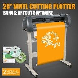 New 28 720MM Vinyl Cutting Plotter W/Artcut Software Contour Cutting
