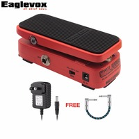 Hotone Soul Press Volume Expression Wah Wah Guitar Pedal Multi Functional Pedal With Extremely Mini Size