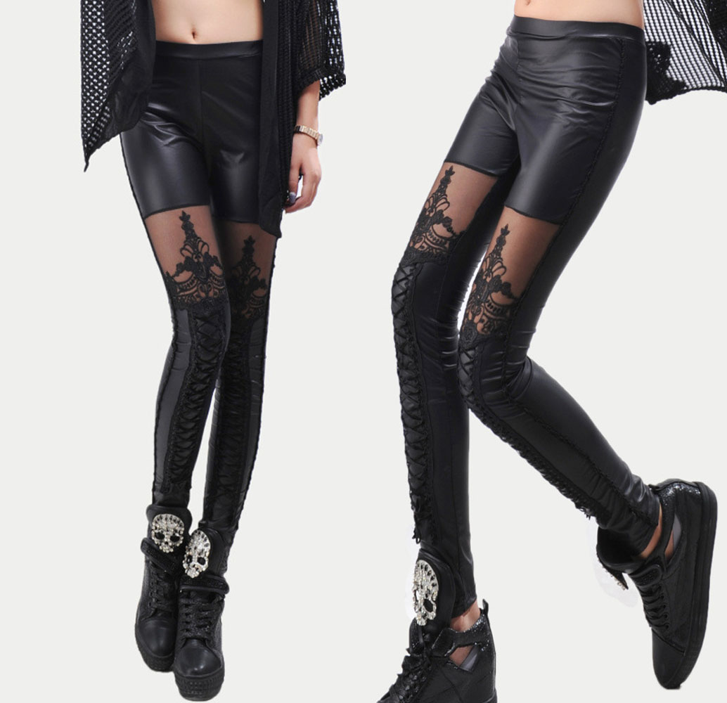 Online Get Cheap Black Leather Leggings -Aliexpress.com | Alibaba ...
