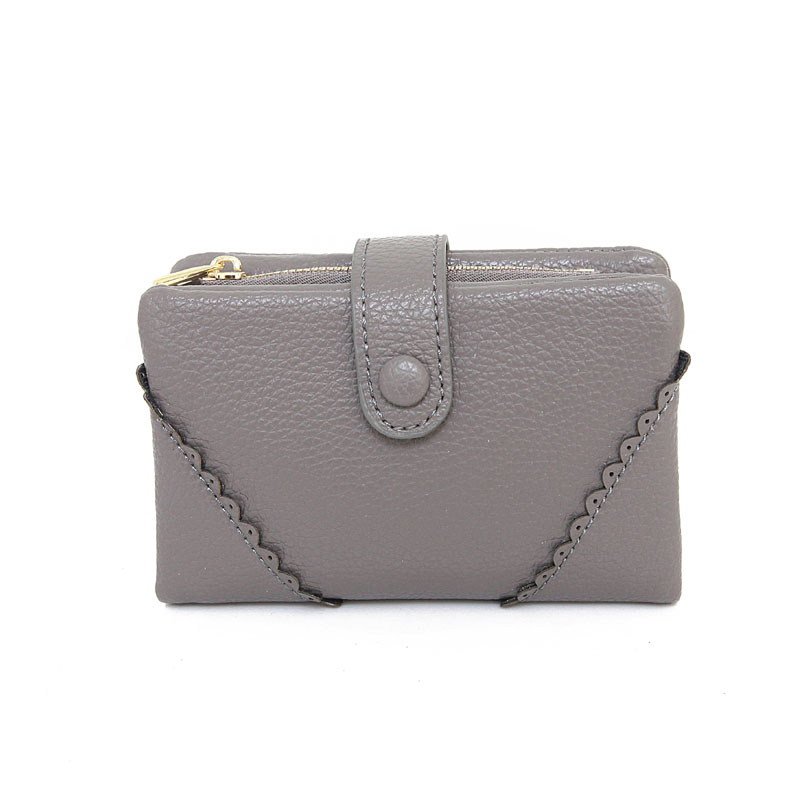New Arrival Amasie New Women Lace Wallet Fashion Short Purse Leather Bag Vintage Office Lady Best Gift for Friends EGT0144