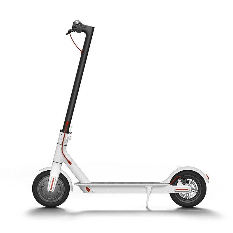 Planche à roulettes électrique pliante intelligente de Hoverboard de longboard de Scooter électrique d'iscooter 2019 avec le lumière LED 2 roues E4