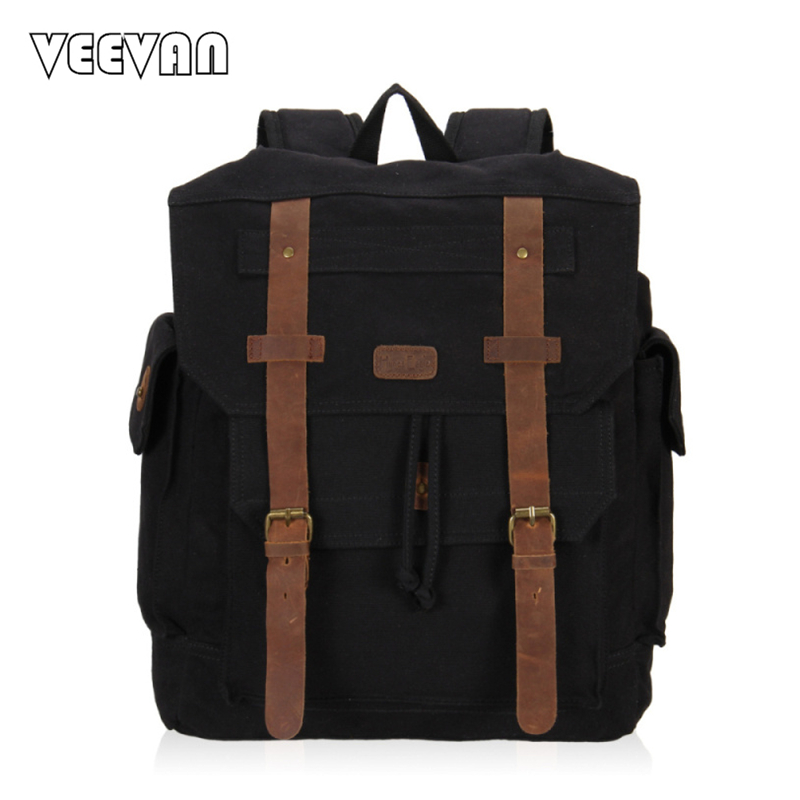 New 2017 Design Canvas Bag Vintage Rucksack Women Laptop Backpack Female School Backpack for Girls Leisure Travel Shoulders Bags vintage multifunction business travel canvas backpack men leisure laptop bag school student rucksack