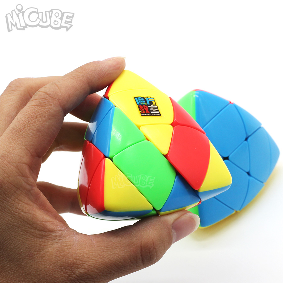 Magic Cubes Qiyi Mastermorphix 5x5 Rice Dumpling Stickerless Magic Cube Puzzle Toy Colorful Multicolor Special Hight Difficult 5x5x5 Cube
