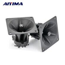 AIYIMA 2 шт. твитеры 85 мм пьезоэлектрический Высокочастотный динамик 150 Вт Керамический Зуммер ВЧ квадратный аудио динамик