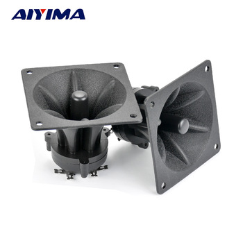 Aiyima 2PC Tweeters 85MM Piezoelectric Tweeter Loudspeaker 150W Ceramic Buzzer Treble Square Audio Speaker