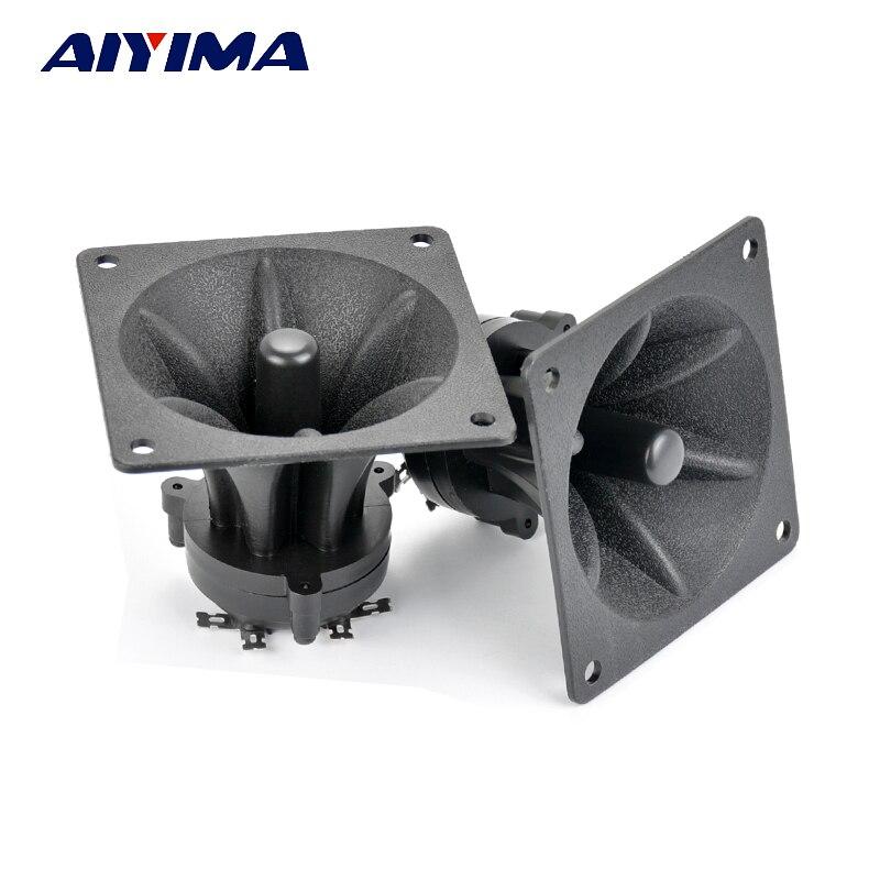 AIYIMA 2 шт Tweeters 85 мм пьезоэлектрический Высокочастотный динамик 150 Вт Керамический Зуммер тройной квадратный аудио динамик audio speaker tweeter loudspeakerspeaker speaker   АлиЭкспресс