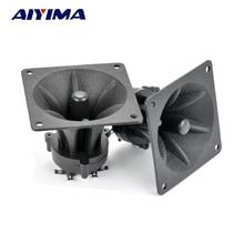 Aiyima 2PC Tweeters 85MM Piezoelectric Tweeter Loudspeaker 150W Ceramic Buzzer Treble Square Audio Speaker