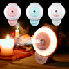 EASEHOLD Oil Diffuser Ultrasonic Air Humidifier Anywhere For Smartphone LED Ring Selfie Light Night Darkness Selfie