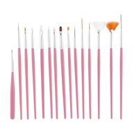 5Pcs Nail Art Brush Nail Dotting Pens Decorations Set Tools Professional Painting Pen Nail Tips UV Nail Brush