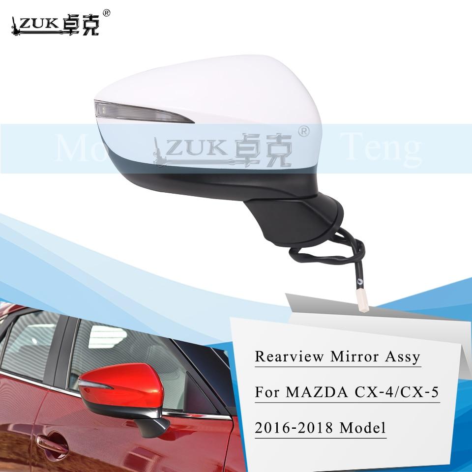 Side Mirror Mitsubishi Pajero 2003-2006 Electric Thermal Right