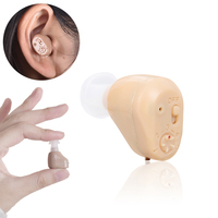 Rechargeable Mini Hearing Aid Invisible In Ear Sound Amplifier Deaf Seniors Ear Canal Tiny Voice Assistance