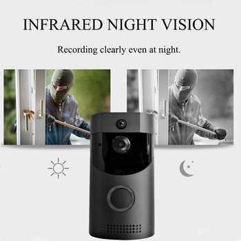 Waterproof Battery Wireless Video Door Phone Doorbell with Speaker phone Intercom System 720P Night Vision PIR Camera Doorphone