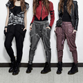 PUNK RAVE brand new products with splicing do old harem pants female leisure long women Trousers