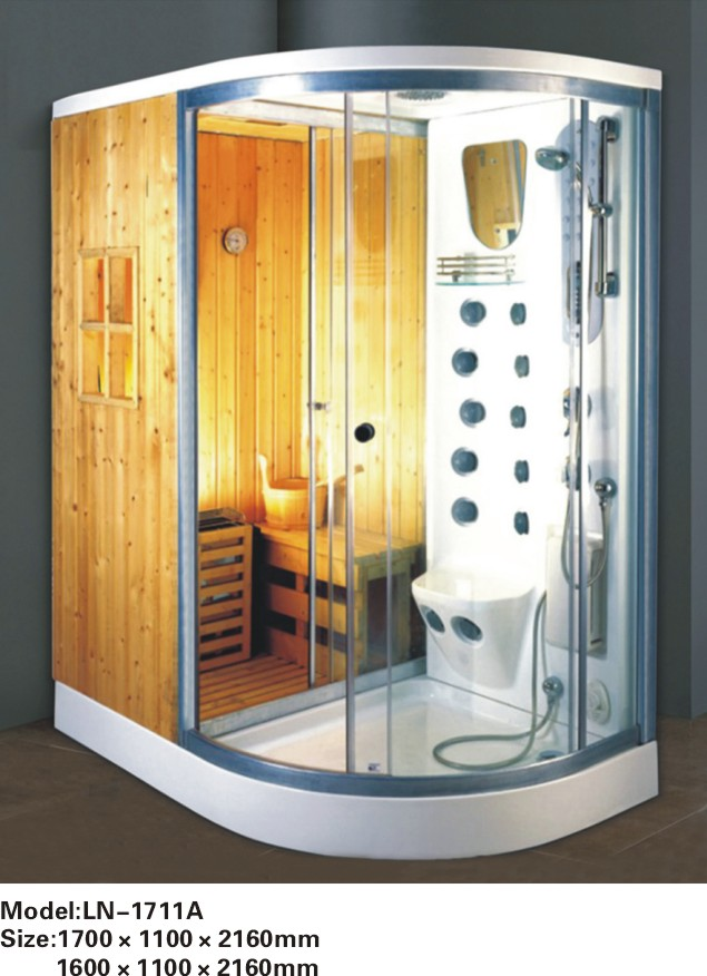 Online Shop Standard shower room/Shower cabin with shower tray ...