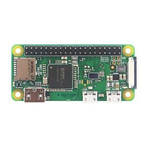 Image 2 - Raspberry Pi Zero W / WH предварительно сварочная пайка, 40 контактный GPIO Header, 512 М ОЗУ, встроенный Wi Fi и Bluetooth Raspberry Pi Zero Pi 0