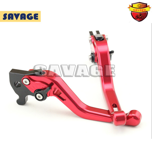 ФОТО For YAMAHA R15 indian version 2011-2014 Red Motorcycle Accessories CNC Aluminum Short Brake Clutch Levers