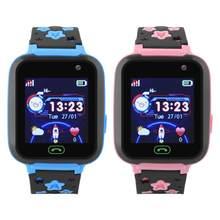 Niños Bluetooth impermeable Tou ch llamada de teléfono Bluetooth Smartwatch GPS  SOS reloj 2d825768c40c