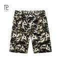 Bermuda Quick Dry Homens Shorts Casual Praia Curto Homme Verão Gogger Pranchinha Camuflagem Mens Curto dos homens Soltos Calções # B0