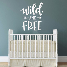 Funny Wild Field Decal Removable Vinyl Mural Poster Kids Room Nature Decor