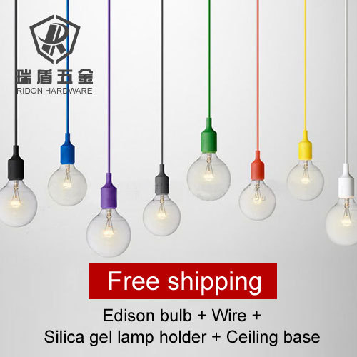 Hot selling!! Vintage decoration bulb e27 tungsten wire silk light ...