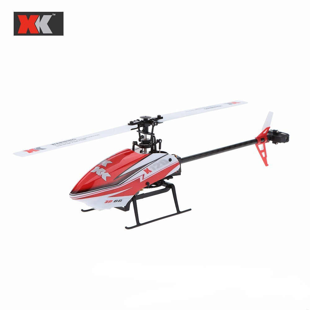 XK K120 K110 6CH Borstelloze Motor 3D6G System RC Helicopter 4CH V911S Helicopter RTF 2.4 GHz Compatibel met FUTABA S-FHSS