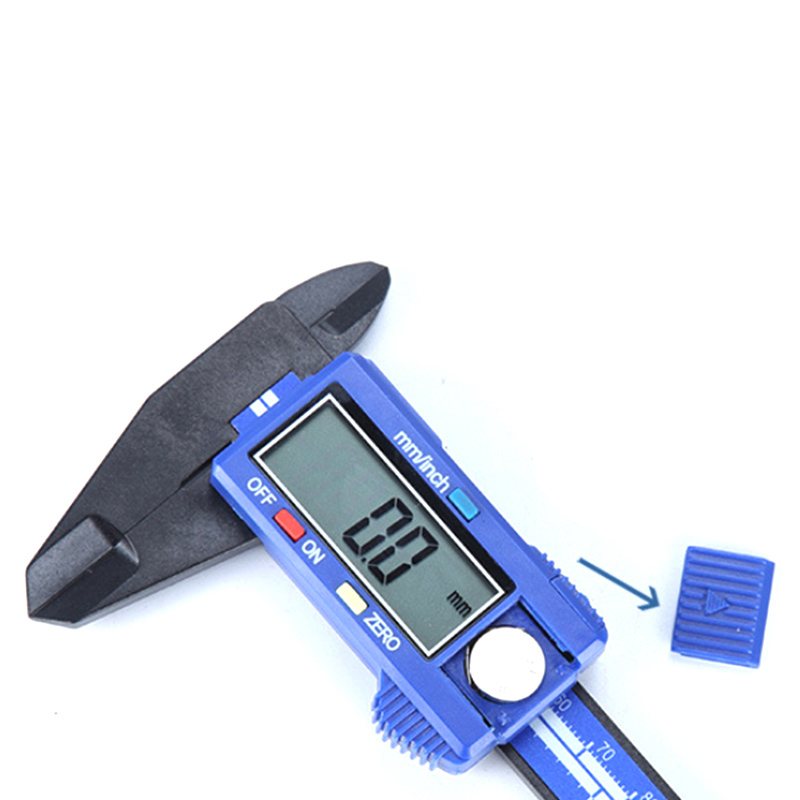 0 150mm Digital Electronic Vernier Calipers LCD Rule Pachometer Gauge Micrometer Thickness Measuring Tool in Calipers from Tools