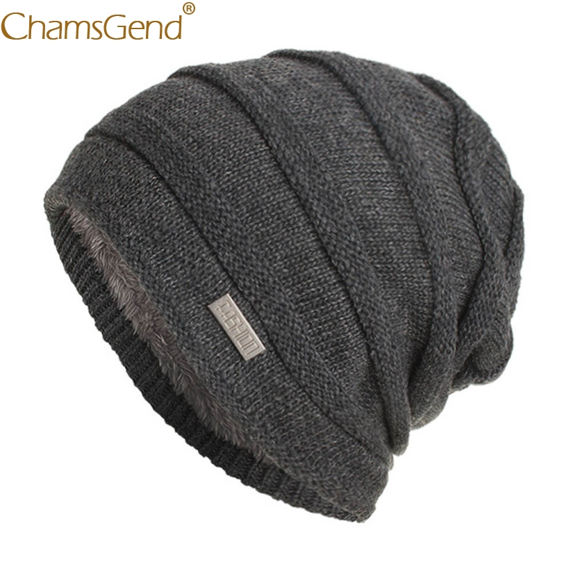 Newly Design Men Casual Warm Fleece   Beanies   Cold Winter Head Wraps Warmers Fashion Woman Men Caps   Skullies     Beanies   81101