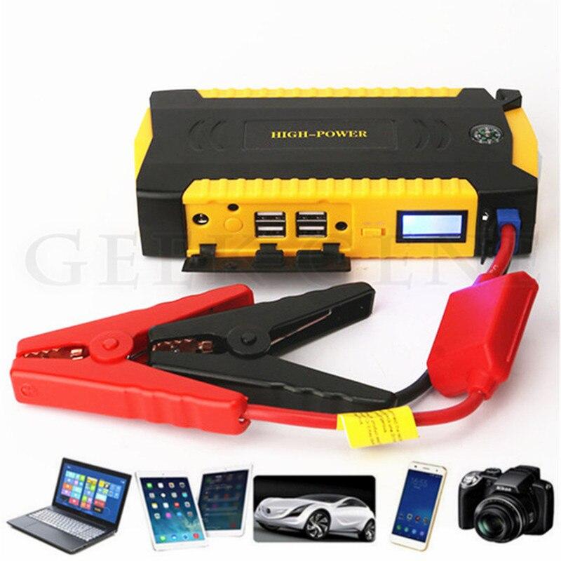 Démarreur de saut de voiture haute puissance 600A 12V dispositif de démarrage batterie externe essence Diesel chargeur de batterie de voiture - 3