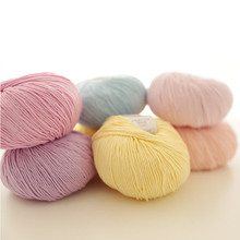 Top grade 5 balls/lot natural soft health Organic cotton yarn for knitting high quality crochet yarn wool knitting thread,Z4428
