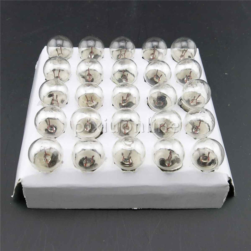 2pcs/lot  J152b 2.5V Round Head Small Bulb Lignt Beads DIY Circuit Making For Teaching And Experiment Sell At A Loss