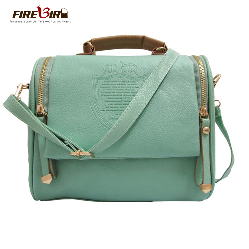 2017 New Women messenger imperial crown pricnt crossbod bag PU leather ladies handbags women shoulder bags Vintage HJS10 fashion women leather handbags imperial crown small shell bag women messenger bag ladies shoulder crossbody bag clutches bolsa