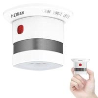 HEIMAN Mini Smoke Alarm Detector, 10 Year Battery Life(Included),Reddot Award,CE Certified, Independent Fire Detector HM HS1SA