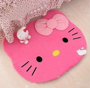 Hello Kitty Carpet For Living Room / Bedroom / Bathroom Alfombras Sweet  Cartoon Childrenu0027s Tapetes Rug Lovely Tapete Infantil In Carpet From Home U0026  Garden ...