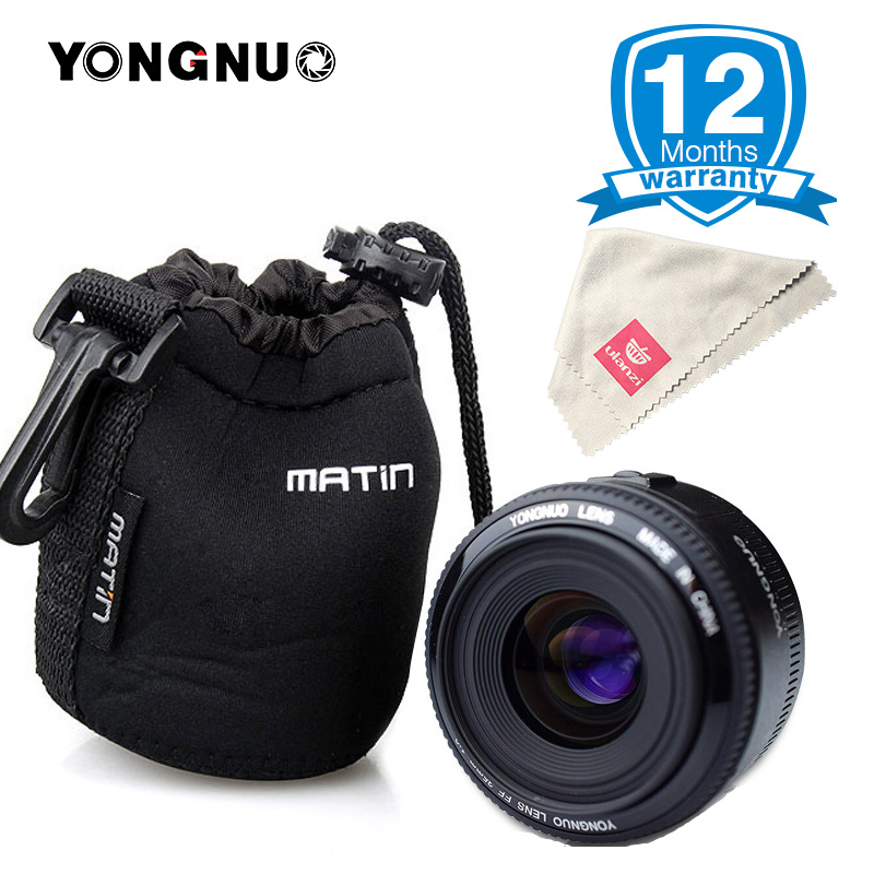 Yongnuo 35mm Lens YN35mm F2 lens for Canon Wide-angle Large Aperture Fixed Auto Focus Lens EF Mount EOS Camera EOS 5DIII 750D стоимость