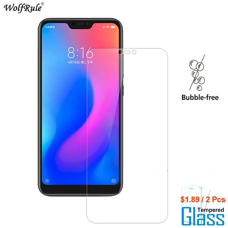 2PCS For Glass Xiaomi Mi A2 Lite Screen Protector Tempered Glass For Xiaomi Mi A2 Lite Glass Phone Film For Xiaomi Redmi 6 Pro