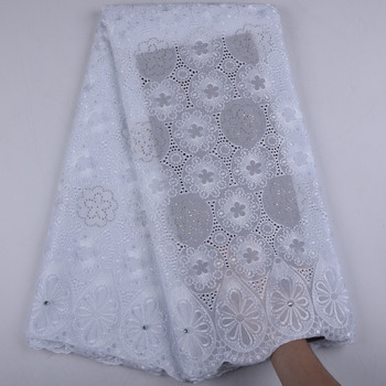 Swiss Voile Lace In Switzerland High Quality African Dry Lace With Stones For Man African Cotton Voile Lace Fabric A1539