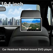 10.1 inch Car Headrest Bracket DVD player Multimedia Player with Touch screen and Touch keys HDMI USB SD FM