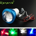 New Arrival  12-80V Universal bright LED Strobe motorcycle headlight Indicator Fish-eye lights