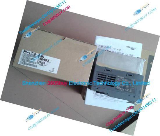 New Original Inverter FR-E720-0.2K 200~240V 1.4A 0.2KW 0.2~400Hz